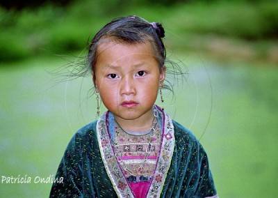 Petite fille miao du Guangxi