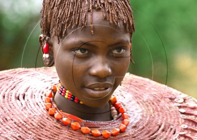 Jeune femme Pokot, rencontrée au bord d'un lac