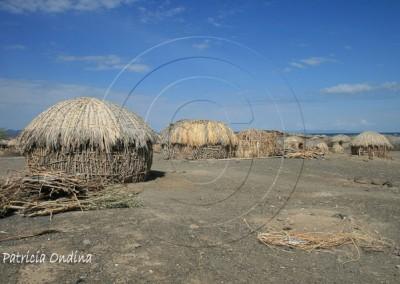 Loyangalani en bordure du lac Turkana